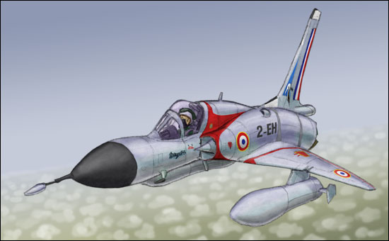 Génèse d'un Mirage III MirageIIIC