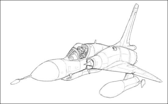 Génèse d'un Mirage III MirageIIIC_step1
