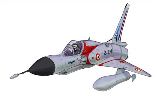 Génèse d'un Mirage III MirageIIIC_step10