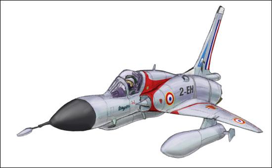 Génèse d'un Mirage III MirageIIIC_step11