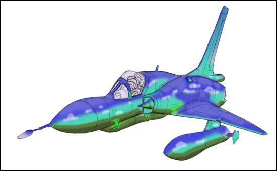 Génèse d'un Mirage III MirageIIIC_step4