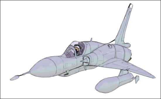 Génèse d'un Mirage III MirageIIIC_step5
