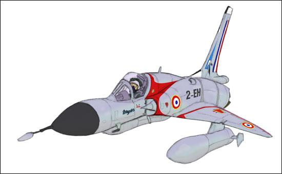 Génèse d'un Mirage III MirageIIIC_step6