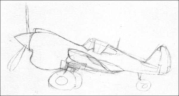 francky's caricatures - Page 3 P40m_esquisse